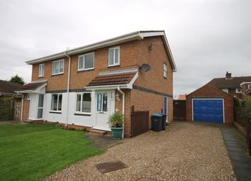 Thumbnail 3 bed semi-detached house for sale in Fernwood Close, Brompton, Northallerton