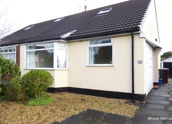 Thumbnail 2 bed bungalow to rent in Lords Stile Lane, Bromley Cross