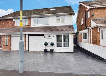 Thumbnail 3 bed semi-detached house for sale in Wideacre Drive, Birmingham, West Midlands