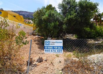 Thumbnail Land for sale in Calpe, Valencia, Spain