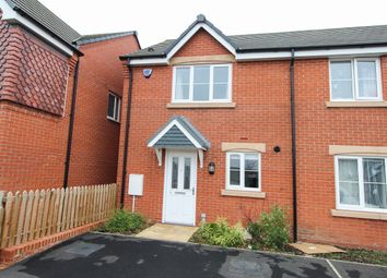 Thumbnail 2 bed town house to rent in Rugby Drive, Chesterfield