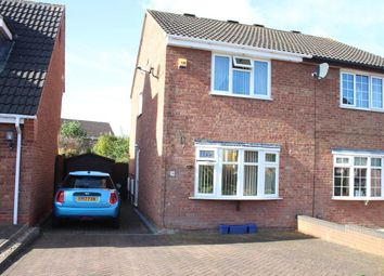 Thumbnail 2 bed semi-detached house for sale in Sycamore Close, Burbage, Hinckley