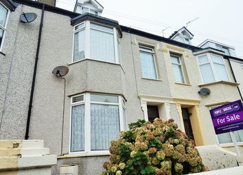 Thumbnail 4 bedroom terraced house for sale in Maeshyfryd Road, Holyhead