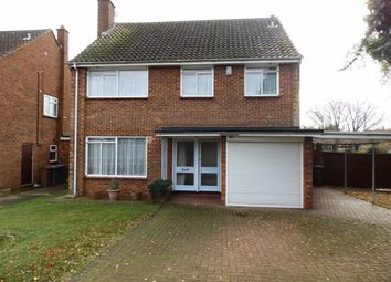 Thumbnail 4 bed detached house for sale in Cuckfield Avenue, Ipswich, Suffolk