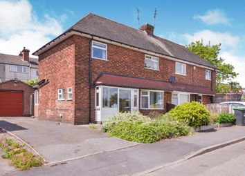 Thumbnail 3 bed semi-detached house for sale in Budby Rise, Hucknall, Nottingham
