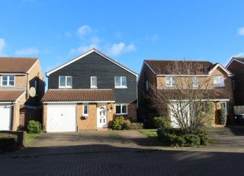 Thumbnail 4 bed detached house to rent in Holden Close, Hitchin