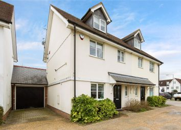 Thumbnail 3 bed semi-detached house for sale in Walter Mead Close, Ongar, Essex