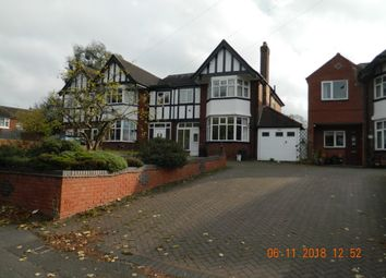 Thumbnail 3 bed semi-detached house to rent in Coleshill Road, Castle Bromwich, Birmingham