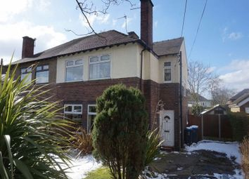 Thumbnail 3 bed semi-detached house for sale in Bridle Path, Ash Bank, Stoke-On-Trent, Staffordshire