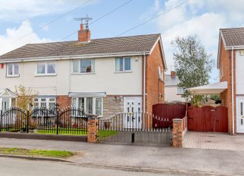 Thumbnail 3 bed semi-detached house for sale in Monks Lane, Crewe