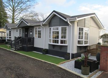 Thumbnail 2 bed mobile/park home for sale in The Glade, Ranksborough Hall (Ref 5196), Langham, Rutland