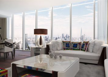 Thumbnail 1 bed flat for sale in Versace Tower, Nine Elms, London
