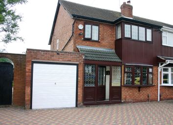 Thumbnail 3 bed semi-detached house to rent in Harlech Road, Willenhall