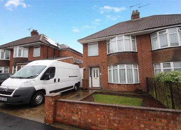 Thumbnail 3 bed semi-detached house for sale in Rosecroft Road, Ipswich