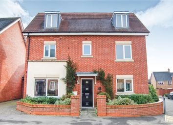 Thumbnail 4 bedroom detached house for sale in Einstein Crescent, Duston, Northampton