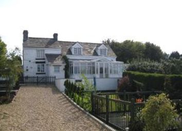 Thumbnail 3 bed detached house to rent in Trelogan, Holywell