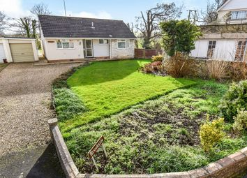 Thumbnail 3 bed detached bungalow for sale in Sherford Road, Sherford, Taunton