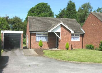 Thumbnail 2 bedroom detached bungalow to rent in Clifton Close, Stafford