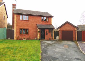 Thumbnail 4 bed detached house for sale in Llys Cilsaig, Dafen, Llanelli