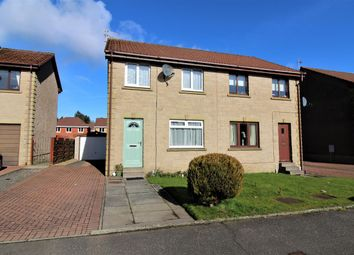 Thumbnail 3 bed semi-detached house for sale in Wallacelea, Rumford, Falkirk