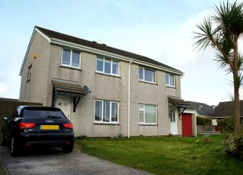 Thumbnail 3 bedroom semi-detached house to rent in Lowen Way, Threemilestone, Truro