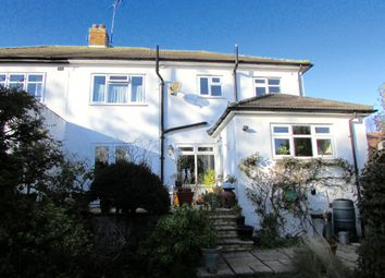 Thumbnail 4 bed semi-detached house for sale in Highfield Crescent, Hornchurch