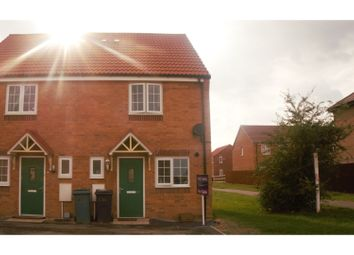 Thumbnail 2 bed semi-detached house for sale in Leon Drive, Peterborough