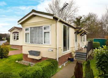 Thumbnail 1 bedroom mobile/park home for sale in Brook Way, St. Ives, Huntingdon