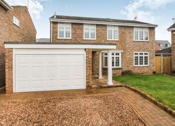 Thumbnail 4 bed detached house for sale in Beeby Close, Syston, Leicester
