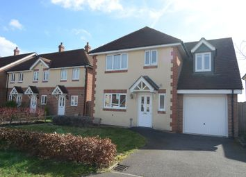 Thumbnail 4 bed detached house to rent in Sherrard Way, Mytchett, Camberley