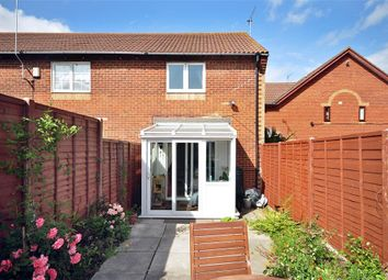 Thumbnail 2 bed end terrace house to rent in Sutton Close, Portsmouth