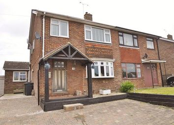 Thumbnail 4 bedroom semi-detached house for sale in Wickenden Crescent, Willesborough, Ashford