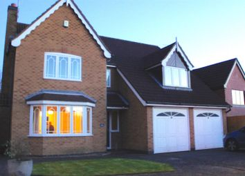 Thumbnail 4 bed detached house for sale in Heron Road, Barrow Upon Soar, Loughborough