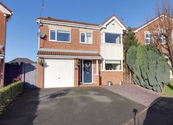 Thumbnail 4 bed detached house for sale in Elm Crescent, Hixon, Stafford