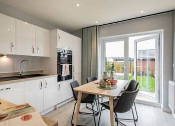 "Thumbnail 3 bed semi-detached house for sale in ""The Milton"" at Parkers Road, Leighton, Crewe"