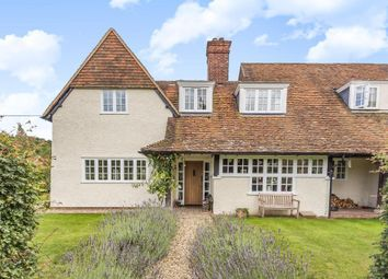 Thumbnail 4 bed semi-detached house for sale in Golf Cottages, Rectory Road, Streatley, Reading