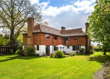 Thumbnail 5 bedroom detached house for sale in Russ Hill, Charlwood, Horley, Surrey