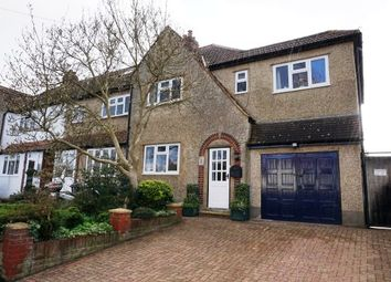Thumbnail 4 bedroom end terrace house for sale in Compton Crescent, Chessington