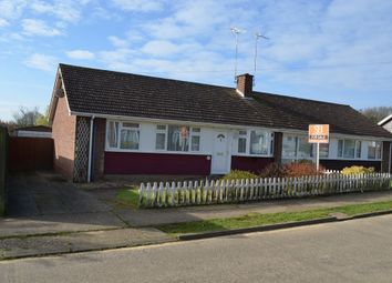 Thumbnail 3 bed semi-detached bungalow for sale in Blackdown Avenue, Rushmere St. Andrew, Ipswich