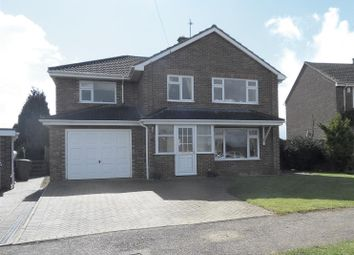 Thumbnail 4 bed detached house for sale in Stockerston Crescent, Uppingham, Oakham