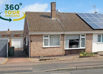 Thumbnail 2 bed semi-detached bungalow for sale in Penzance Avenue, Wigston, Leicester
