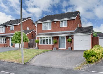 Thumbnail 3 bed detached house for sale in Deerhurst Close, Church Hill North, Redditch