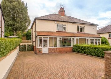 Thumbnail 3 bedroom semi-detached house for sale in Stainbeck Road, Leeds, West Yorkshire