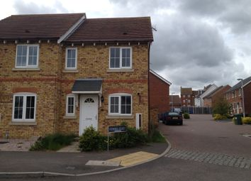 Thumbnail 2 bed semi-detached house to rent in Mistletoe Drive, Minster On Sea, Sheerness