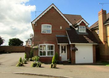 Thumbnail 3 bed detached house for sale in Robinia Close, Lutterworth, Leicestershire