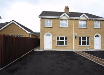 Thumbnail 3 bed semi-detached house for sale in Woodvale Green, Dromara, Down