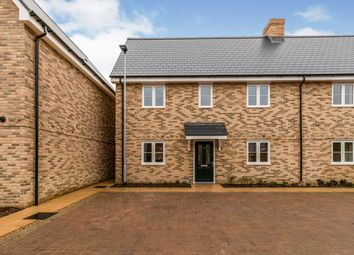 Thumbnail 2 bed semi-detached house for sale in Paddock Close, Balsham