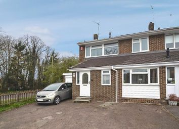 Thumbnail 3 bedroom semi-detached house for sale in Snells Mead, Buntingford