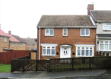 Thumbnail 4 bed semi-detached house for sale in Basingstoke Road, Peterlee, Durham SR82Ar