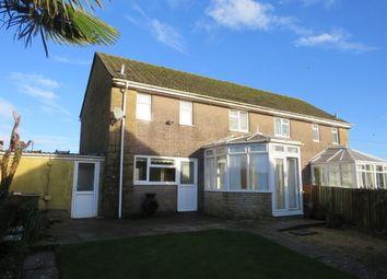 Thumbnail 3 bedroom semi-detached house for sale in Birgage Road, Hawkesbury Upton, Badminton